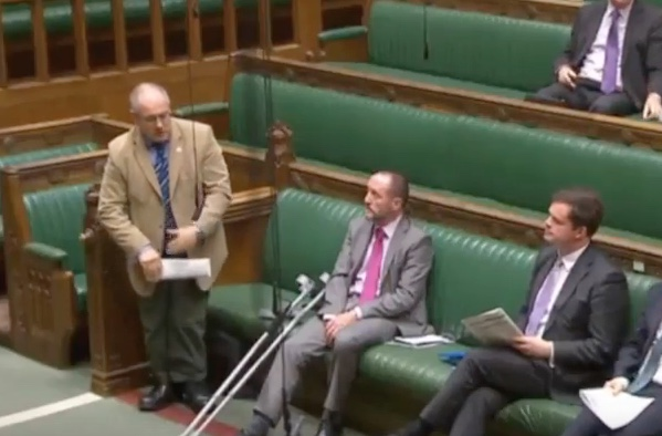 Robert Halfon quizzes minister over link between school exclusion and prison.