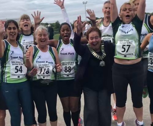 Hundreds take part in the Harlow 10 Mile Road Race