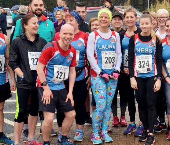 Athletics: Magnificent turnout by Harlow Running Club at St Clare Hospice 10K