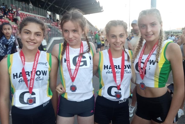 Athletics: 'Relay' good weekend for Harlow AC