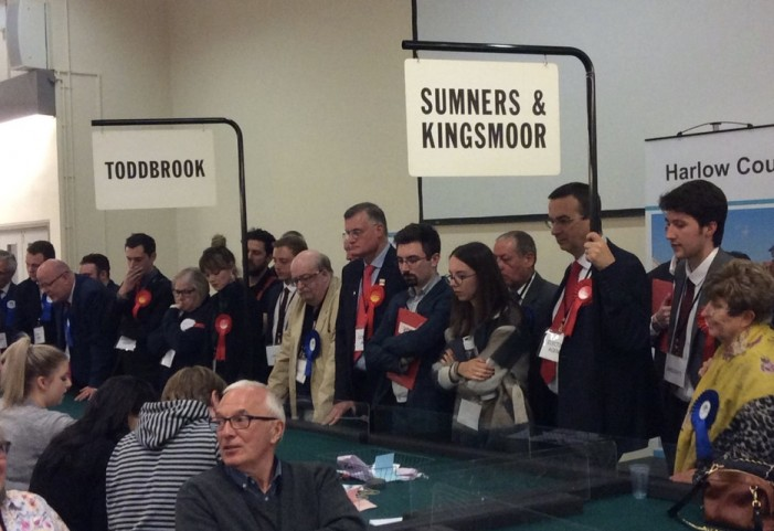 Candidates announced for Harlow by-elections