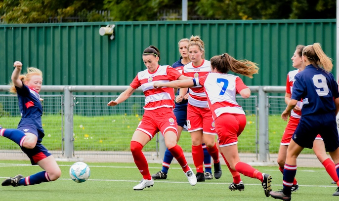 Football: Harlow Ladies crash out of FA Cup
