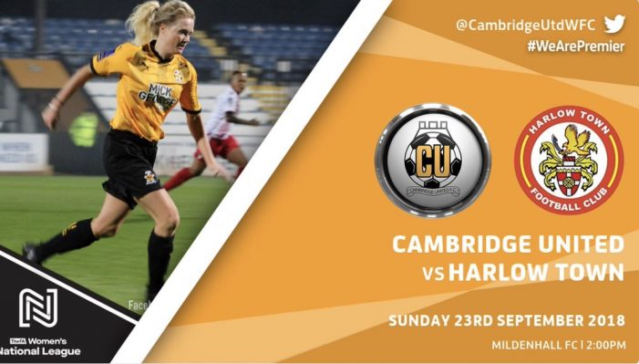 Football: Harlow Ladies in FA Cup action