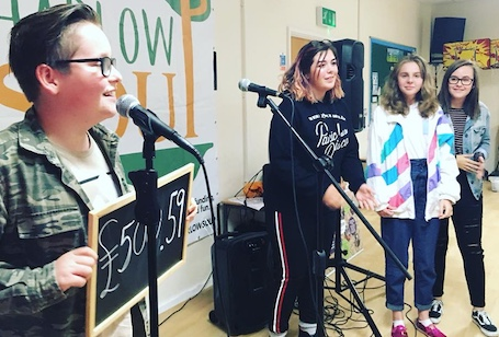 Harlow Rock School are number one at Harlow Soup