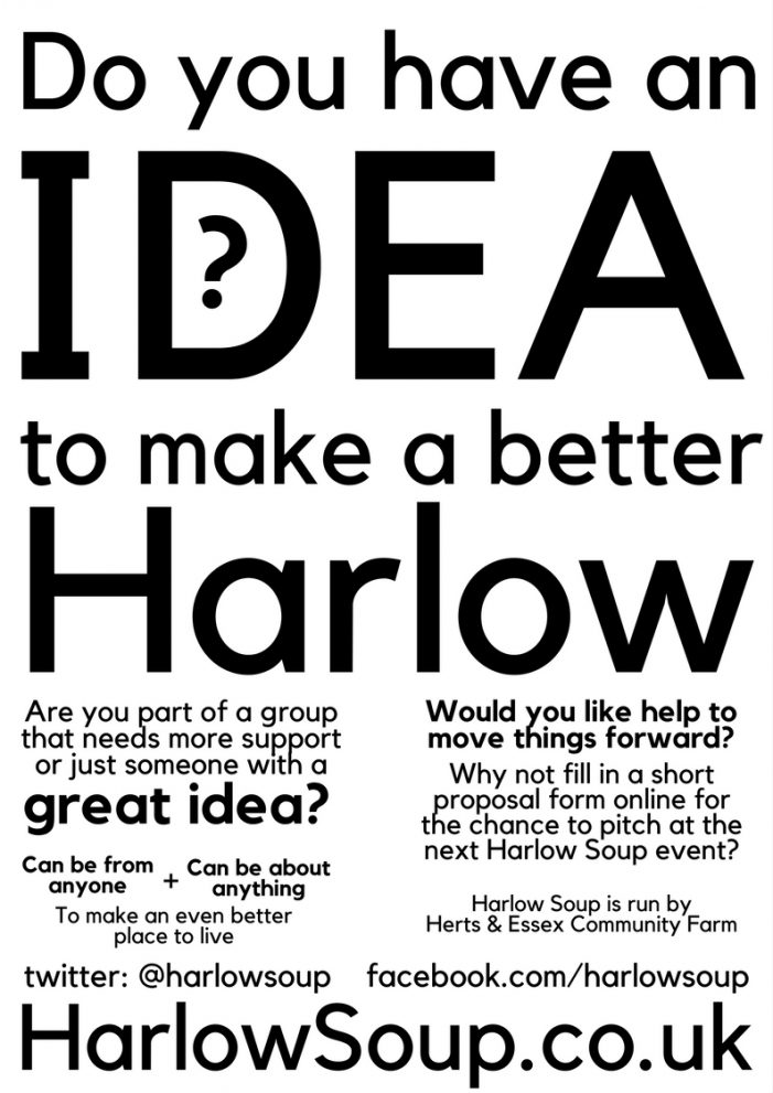 Harlow Soup is seeking new submissions