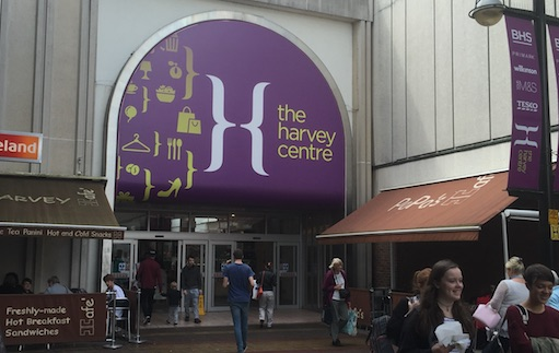 Wash, Shop and Go at the Harvey Centre