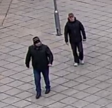 Men sought after knife point robbery on Broadwalk