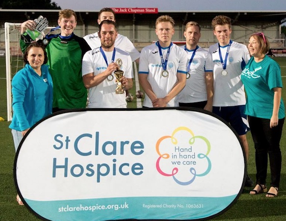 St Clare Hospice host charity football tournament at Harlow Town FC