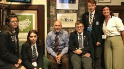 Young Passmores Academy debaters speak at Westminster