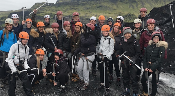 Burnt Mill students make groundbreaking trip to Iceland