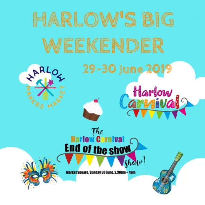 Harlow is gearing up for The Big Weekender