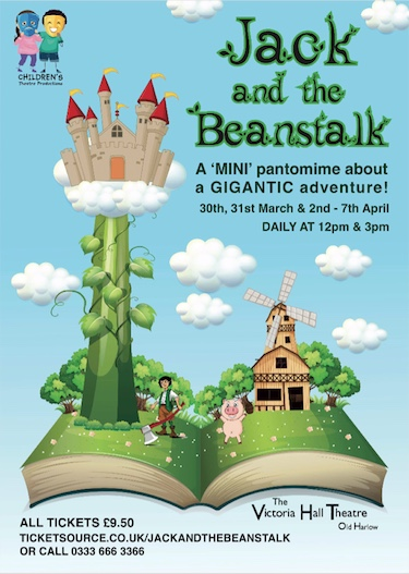 Jack and The Beanstalk at the Victoria Hall Theatre