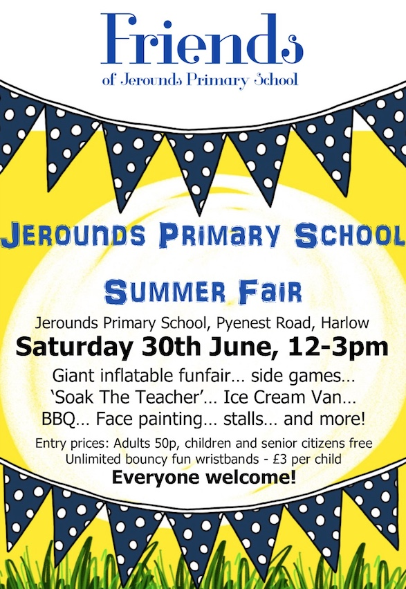 Jerounds Primary School Summer Fair