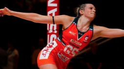 Netball: Harlow's Jo plays her part in England win