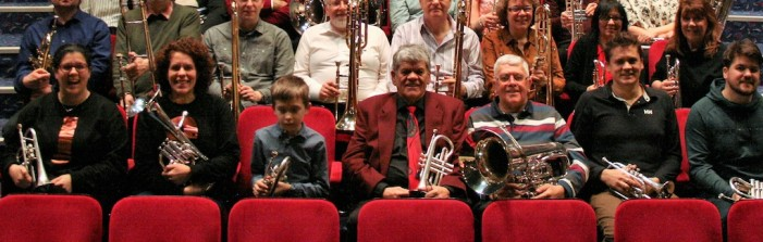 Brass spectacular for John Gillespie's 70th