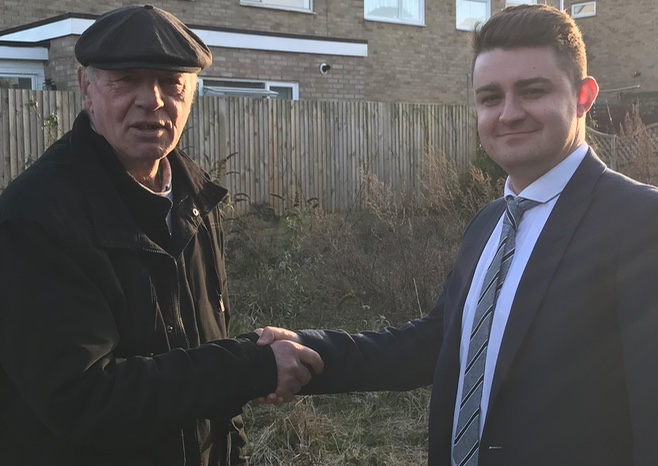 Harlow business saves the day by providing a home for John Jones and his caravan