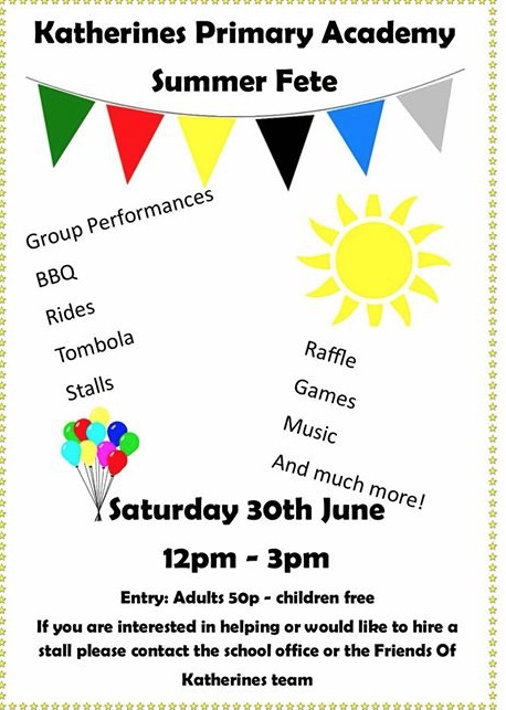 Katherines Primary School Summer Fete