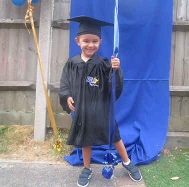 Hats off to pre-school Graduates At Kiddi Caru Harlow