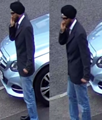 Man wanted after car stolen in Latton Green
