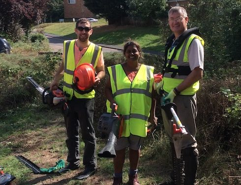 Harlow councillors clean up Leah Manning Centre