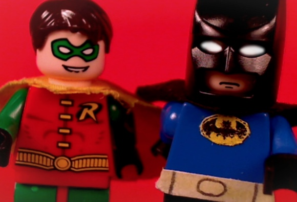 LEGO's Batman & Robin head to Harlow for The Entertainer's Grand Opening Event!