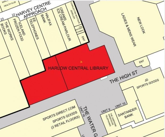 Is Harlow library about to be sold off?