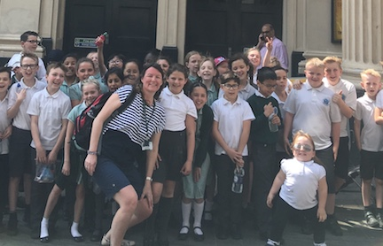 Cooks Spinney pupils get the lions share of theatre in London