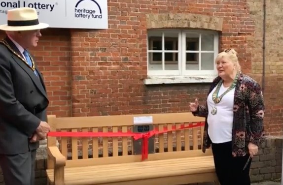 Listening Bench unveiled at Harlow Museum