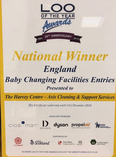 Harvey Centre flushed with success at Loo of the Year awards