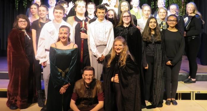 Passmores' students perform in Macbeth