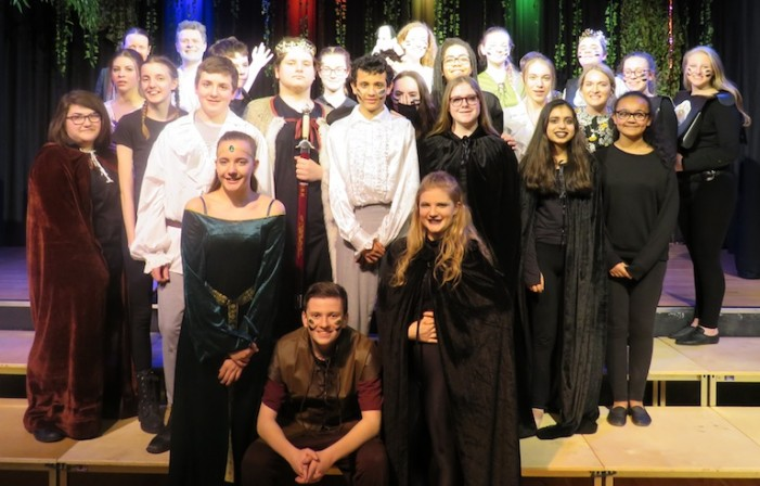 Passmores' students perform in Macbeth