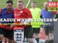 Sport: Get into Man versus Fat Football in Harlow