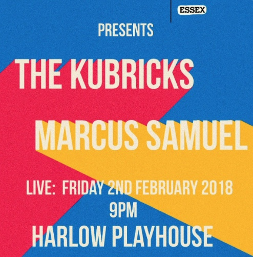 Don't miss Marcus Samuel at Harlow Playhouse