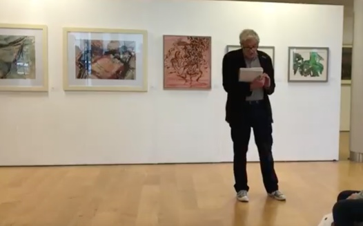 Artist Mark Pulsford opens exhibition celebration Harlow artist's work