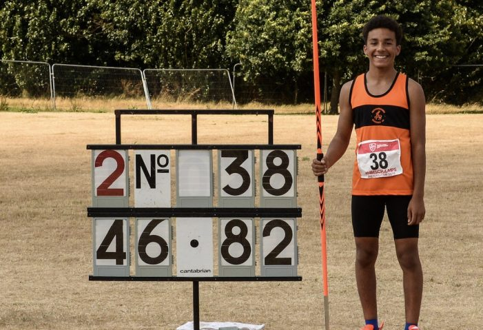 Athletics: Marley's massive throw part of tremendous weekend for Harlow AC