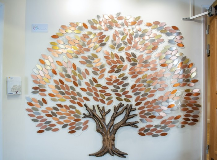 St Clare Hospice memorial tree