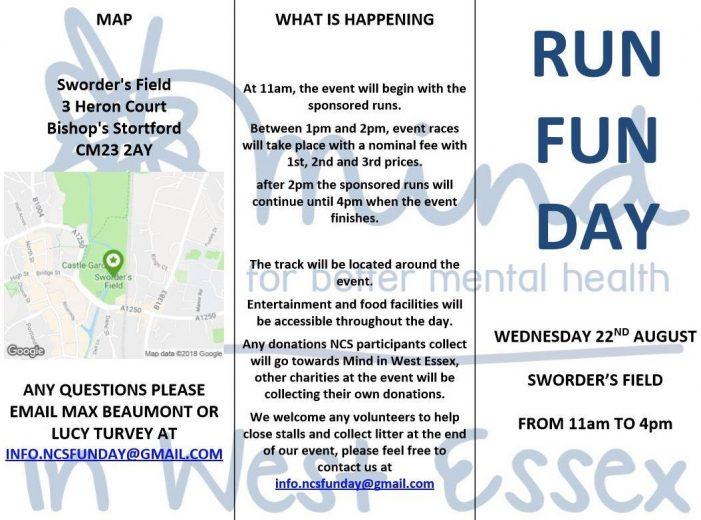 Run Fun Day for Mind West Essex