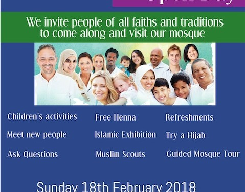 Come and visit our mosque in Harlow