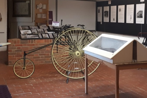 New John Collins cycle exhibition at Harlow Museum