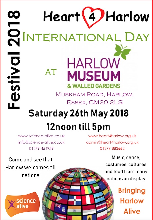 Heart 4 Harlow to host International Day at Harlow Museum