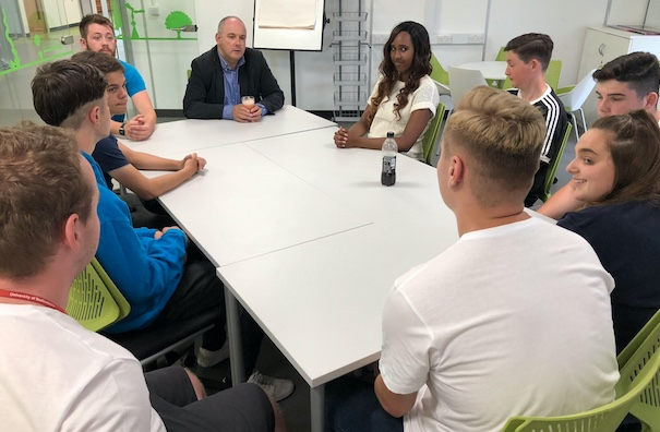Robert Halfon MP meets apprentices from the NCS and Harlow College