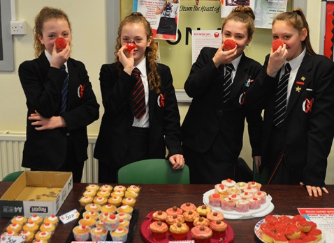 Burnt Mill Schools hold Red Nose Day