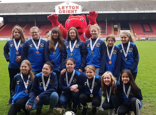 Victorious Passmores girls' football team invited to Leyton Orient