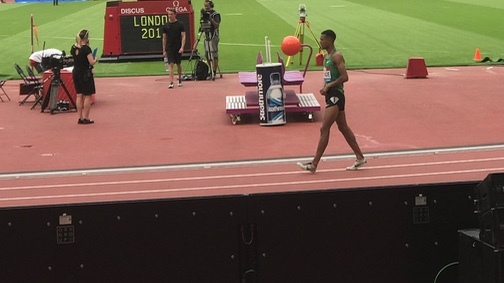 Athletics: Harlow's Andrew Osagie impresses in Olympic Stadium