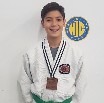 Harlow Judo's Owen grabs bronze at International Open in Netherlands