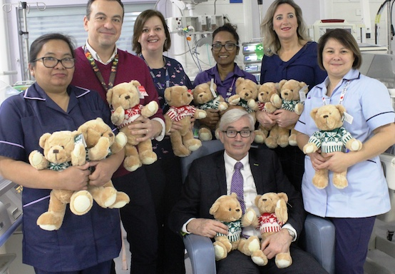 Gifts bring cheer for unwell children at Princess Alexandra Hospital