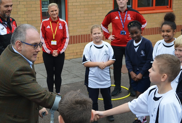 Future PE teachers show off their kills to Harlow MP