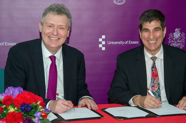Public Health England and University of Essex sign innovation pact