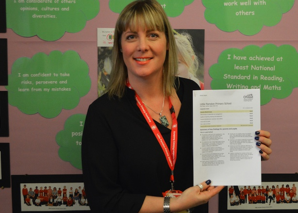 Little Parndon achieves school's best ever Ofsted rating.