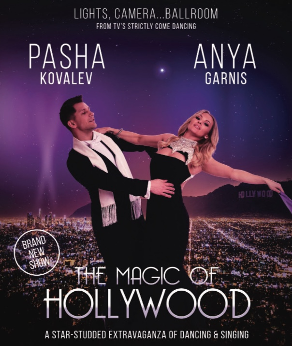 "Strictly's Pasha is bringing ""The Magic of Hollywood"" to the Harlow Playhouse"